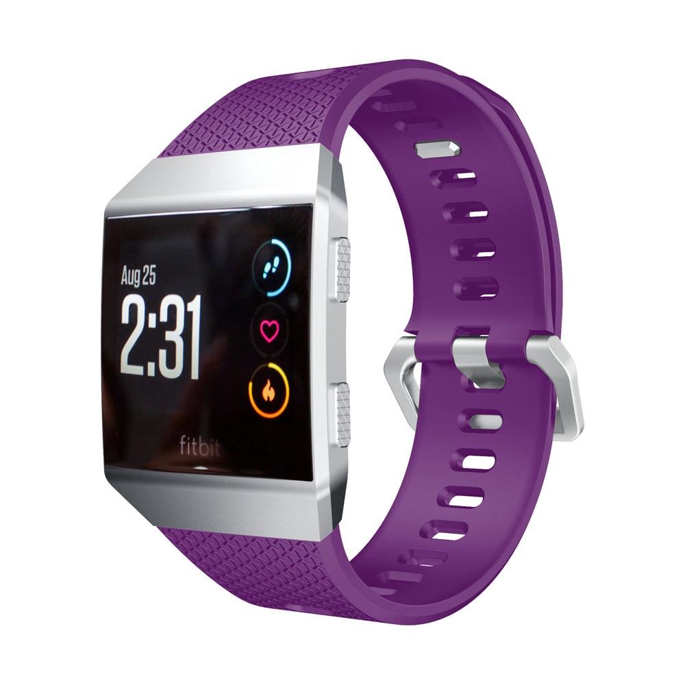 Sangles de remplacement en Silicone souple pour Fitbit ionique Bracelet de montre de haute qualité pour Fitbit Bracelet de mode ionique pour adulte