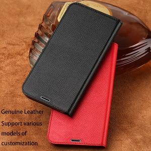 Flip Phone Case For Xiaomi Mi 5 6 8 A1 A2 lite Max 2 3 Mix 2s 3 case Litchi Texture Suction cup For Redmi Note 4 11 4A 5 5A Plus