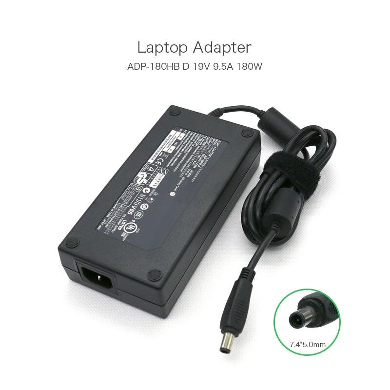 19 فولت 9.5A 180 واط 7.4*5.0 مللي متر محمول محول ل ASUS ADP-180HB D ل HP TouchSmart IQ510 HSTNN-LA03 PA-1181-02HH الكمبيوتر