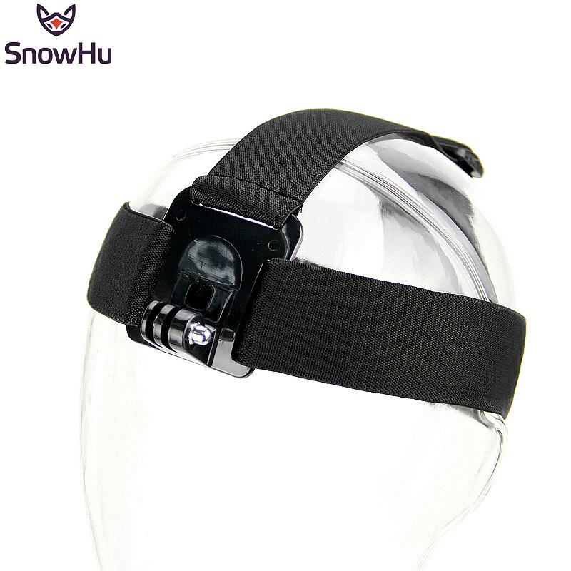 Экшн-камера SnowHu для Gopro Hero 8, 7, 6, 5, 4, 3, черная эластичная камера для спортивных камер, аксессуары для Xiaomi Yi GP23
