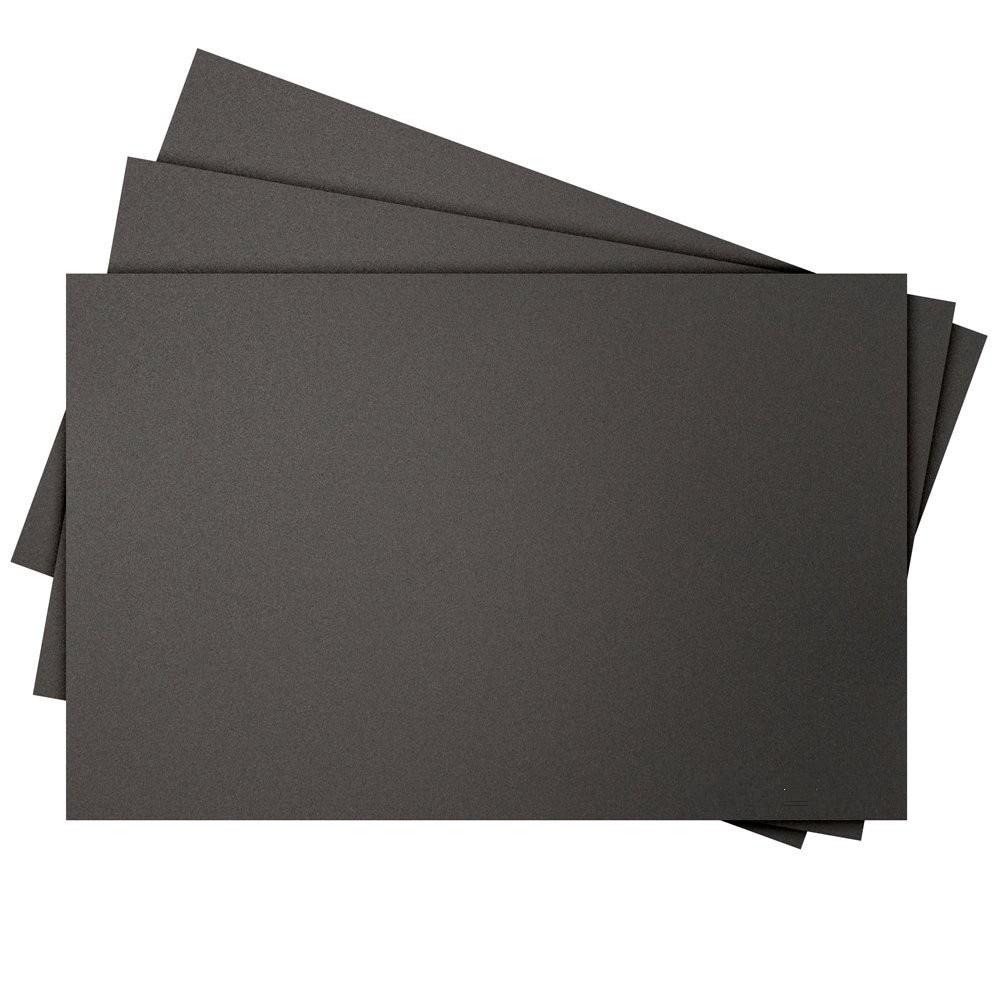 Funssor 5 шт. 3D сборки с печатной поверхностью 320x220 Прямоугольная Черная супер палка сборка ленты лист для 3D печати кровать с подогревом