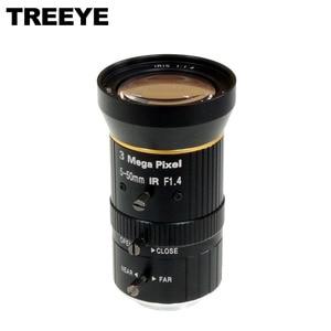 "HD 3.0Megapixel Varifocal 5-50mm lens IR CCTV Camera Lens 1/2.5"" IP Camera Lens CS Mount  F1.4"