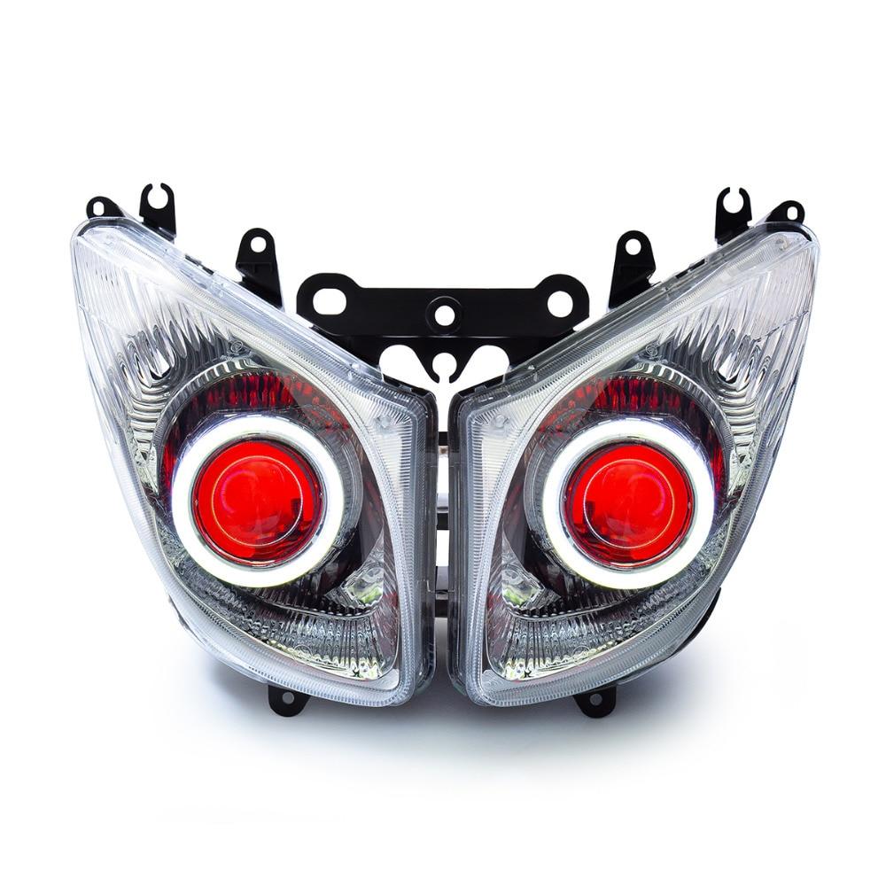 KT LED دراجة نارية المصباح الجمعية لياماها T-Max TMAX 2008-2011 كشافات الجبهة الانتهاء
