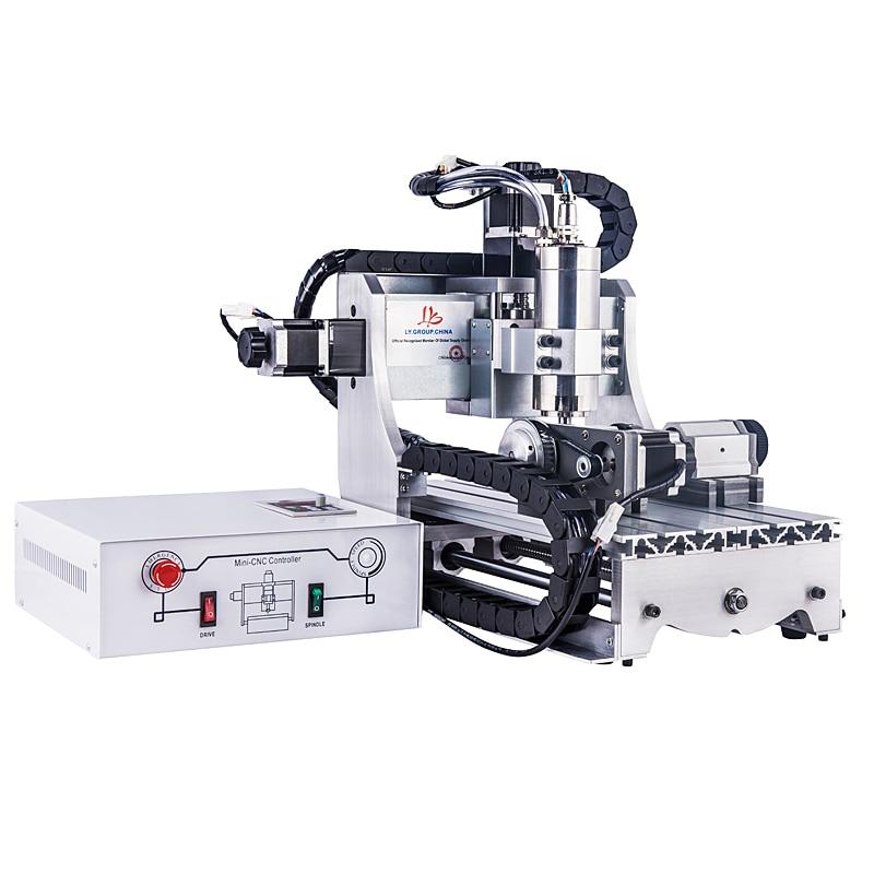 Água de Refrigeração do Eixo Máquina de Gravura do Metal Máquina de Corte March3 para Anéis Eixos 800 w Pulseiras Usb 4 Cnc 3040