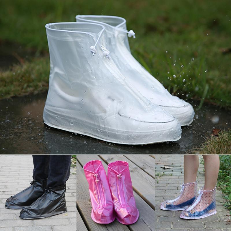 Zapatos acuáticos antideslizantes, protectores impermeables Unisex para zapatos, cubierta para botas, cubiertas para zapatos de lluvia, zapatos de exterior para días lluviosos