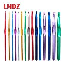 LMDZ aiguilles à coudre   Aiguilles à coudre, aiguilles à tricoter, Crochet en aluminium, accessoires de tissage pour chandail 2-10mm 15 tailles