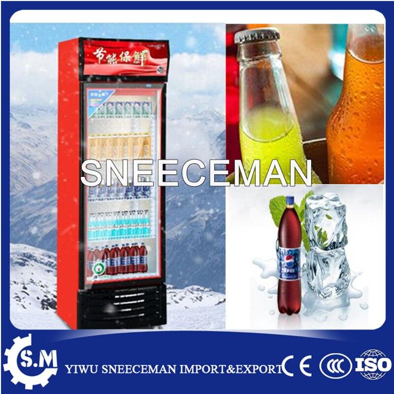 Beber bebida refrigerada vertical armário de exposição