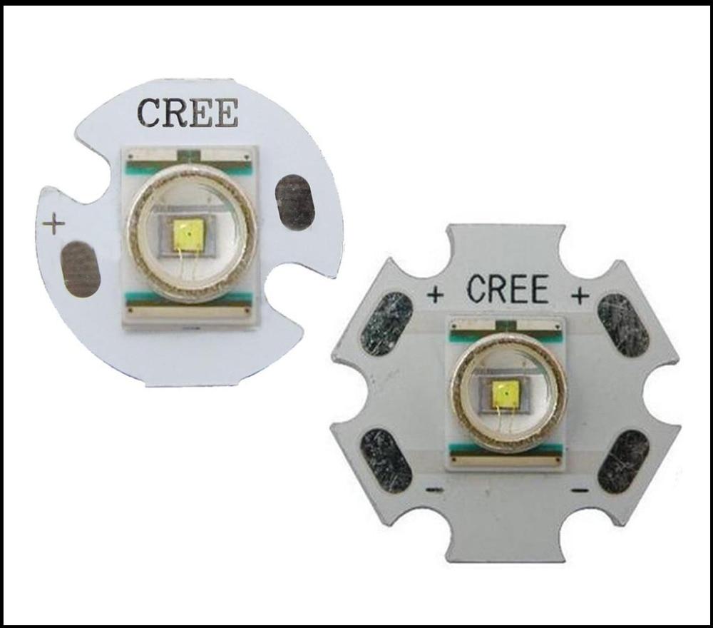 Original Cree XLamp XR-E Q5 Warm / Cold White 1W-3W flashlight LED Light With 20mm/16mm /12mm Base