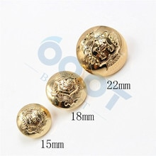 178097,10pcs/lots Lion head Vintage Metal Button metal blazer button set DIY sewing Suit jacket unif