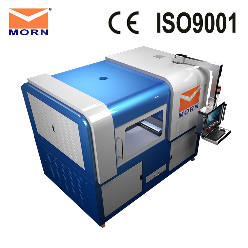Mini completa fechado cabine de fibra máquina de corte a laser para o aço inoxidável, aço carbono, alumínio e outros materiais de metal