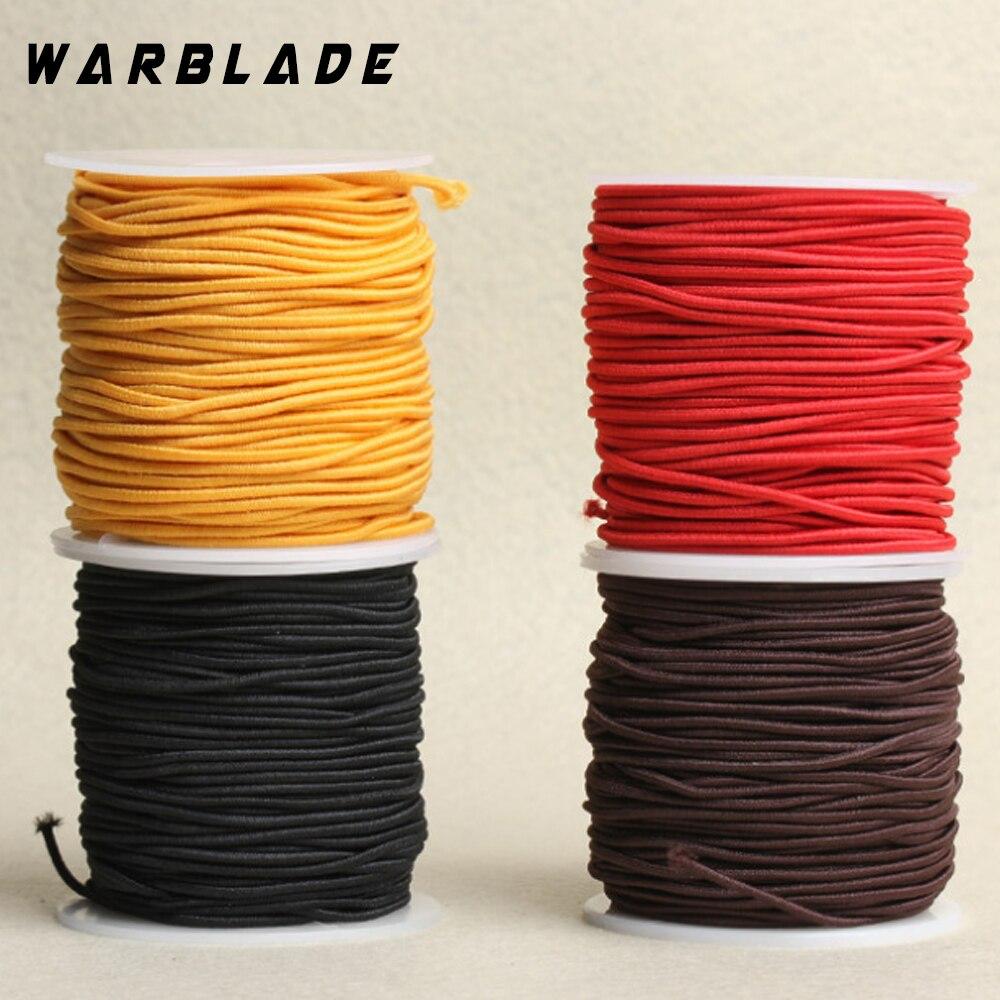 Cuerda elástica de nailon con cuentas, hilo de cuerda para pulsera, joyería y manualidades, accesorios Dia. 0,6/0,8/1,0/1,2/1,5mm