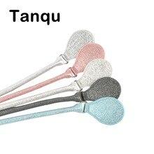 Tanqu correa redonda concisa de cuero dorado con hebilla D gotas para City Chic Obag cesta Classic Mini mujer bolso O bolsa