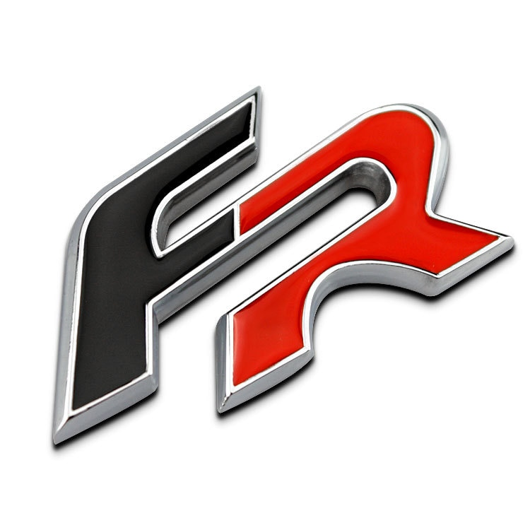 SEAT Black Red FR Chrome Metal Car Styling Emblem 3D Badge Sticker Auto Decal Logo For Ibiza Leon Altea IBE Toledo Exeo IBL IBX