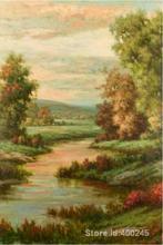 Schilderijen by pierre auguste renoir lac d avignon handgeschilderde op canvas hoge kwaliteit