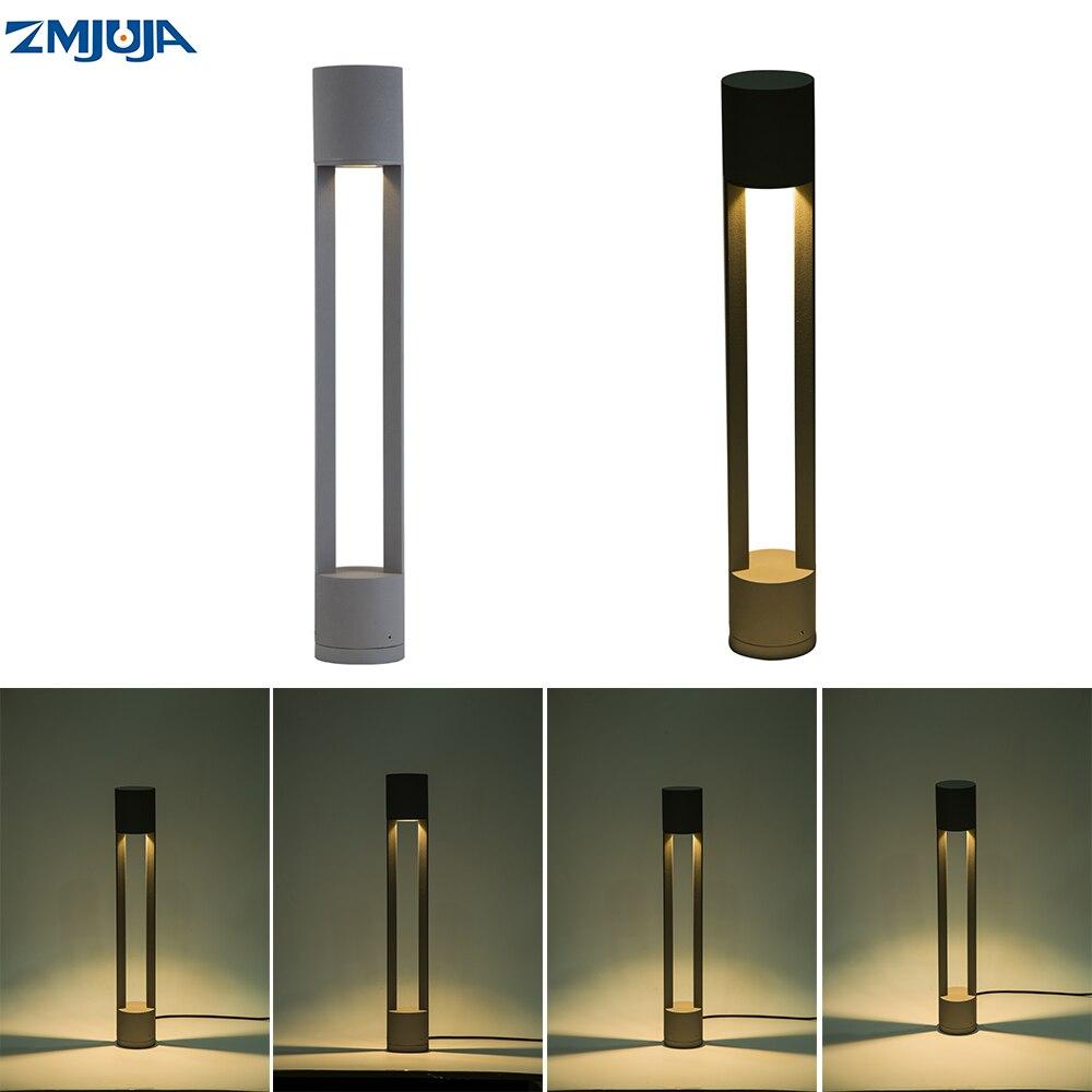 Iluminación Exterior IP65, luz Led para jardín impermeable, luz para Sendero de AC85-265V, lámpara Led de pie para Sendero, luces tipo bolardo