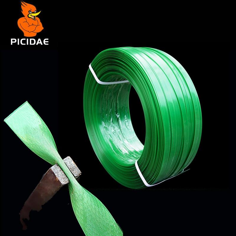 PET Kunststoff Stahl Verpackung Gürtel Umreifung Festen Streifen Braid Seil Band Gebäude Material Holz Waren Logistik Transport Tablett