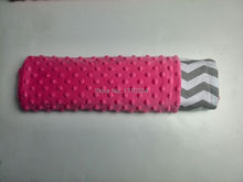 Super zachte minky dot dekens gedrukt coral fleece deken fabriek china