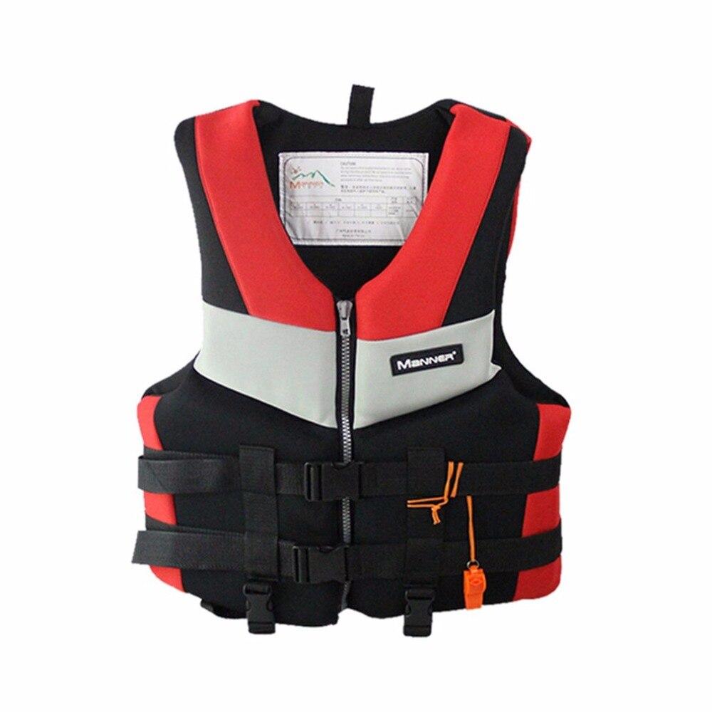 Nueva chaqueta salvavidas para adultos, chaleco de espuma profesional Universal para natación, navegación, esquí, pesca de deriva, chaleco salvavidas grueso S-XXL