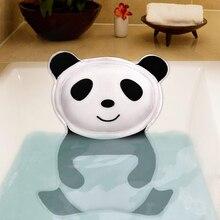 Almohada de baño SAFEBET Panda, cojín suave para el cuello, almohada para bañera con respaldo, ventosa para SPA, reposacabezas, accesorios creativos para el baño