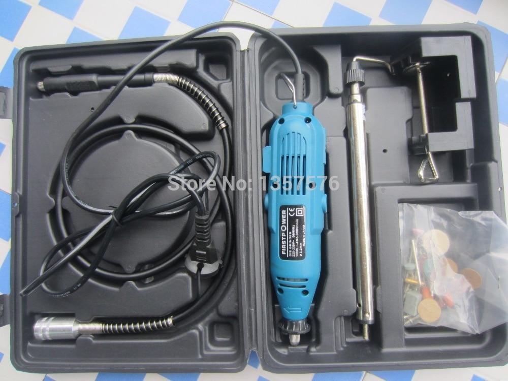 Mini laptop rotary beading tools kit,jewelry dremel Tool,gold wood silver bone grinding polishing tool kit with plastic case