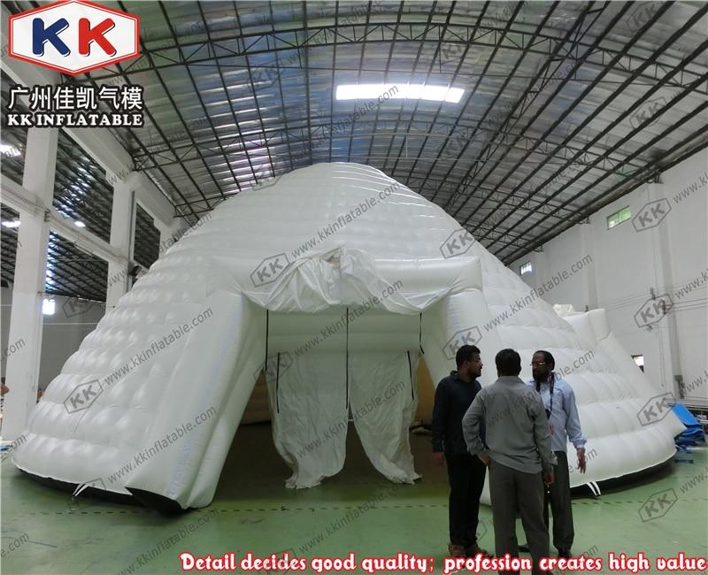 Partido Branco UFO Inflável Cúpula Tenda Para Venda
