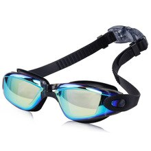 À prova dwaterproof água nadar óculos eyewear profissional galvaniza marca adulto das mulheres dos homens anti nevoeiro proteção uv óculos de natação