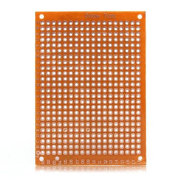 Elektronische kit Schaltung Standard-montageplatten 10 stücke Blank PCB Breadboard Universal DIY Lichtdruck Board Single Side