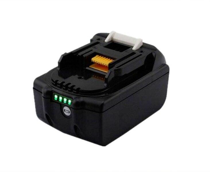 Repuesto de batería Li-ion de 4500mah para Makita BL1830B BL1840B de 18V