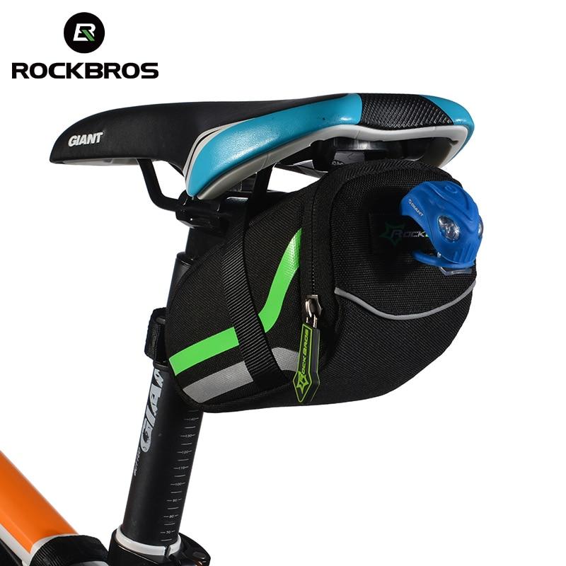 ROCKBROS Ciclismo Ao Ar Livre Bicicleta de Montanha de Volta Assento De Bicicleta Traseiro Cauda Bolsa Pacote de Saco de Nylon Da Bicicleta Saco Sela Acessórios Da Bicicleta