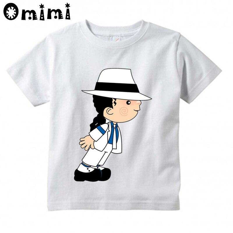 Детская футболка с принтом «Рок н-ролл», «Звезда», «Майкл Джексон», «Bad» детские музыкальные топы, модная футболка для мальчиков и девочек ooo5144