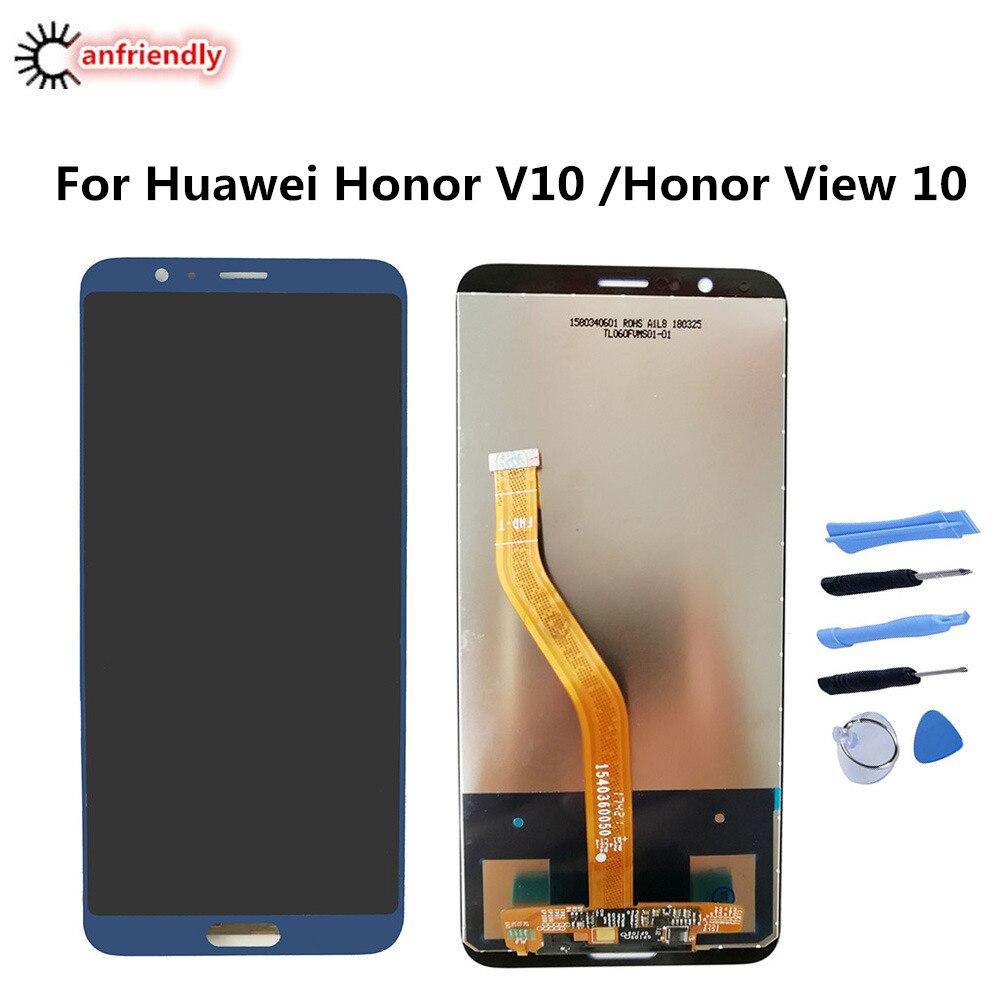 "Para Huawei Honor V10 5,99 ""BKL-AL00 BKL-AL20 BKL-L09 pantalla LCD + MONTAJE DE digitalizador con pantalla táctil para Huawei Honor View 10 nuevo"
