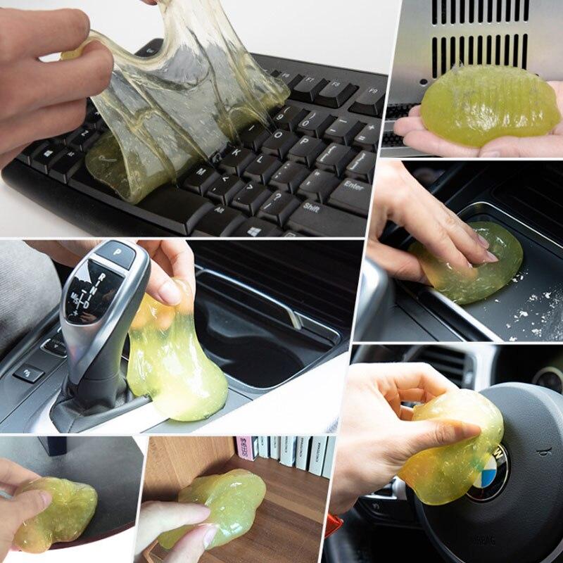 Чистящий инструмент высокотехнологичный волшебный пылеочиститель смесь супер чистый Слизистый гель для телефона ноутбука ПК Компьютерная клавиатура