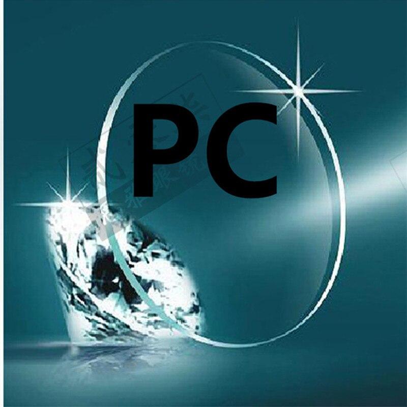 Cristales para miopía PC baloncesto/fútbol dedicado ligero a prueba de impacto lentes de policarbonato a prueba de explosiones lente de seguridad