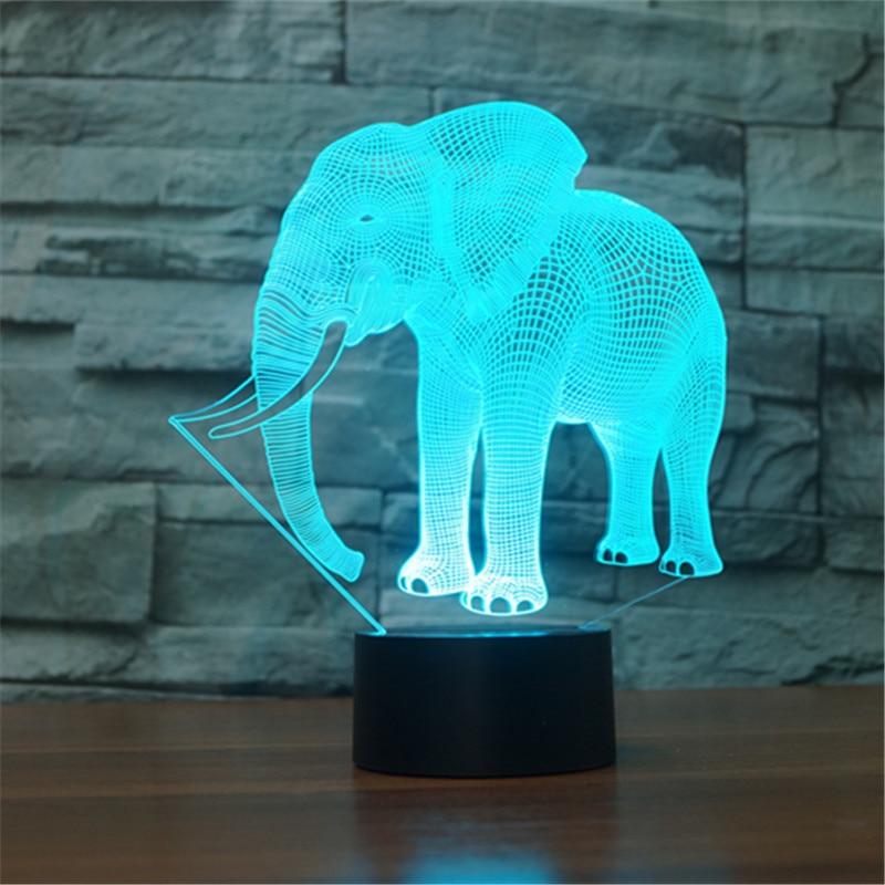 Lámpara de luz nocturna 3D con forma de robort, decoración 3d, Envío Gratis