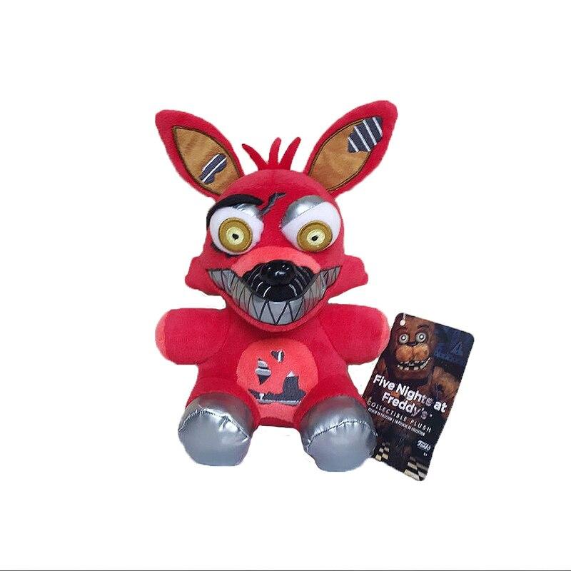 18cm sexy de peluche de juguete FNAF cinco noches en Freddy pesadilla Foxy zorro juguete de felpa de peluche suave juguetes de peluche regalos de muñecas para niños