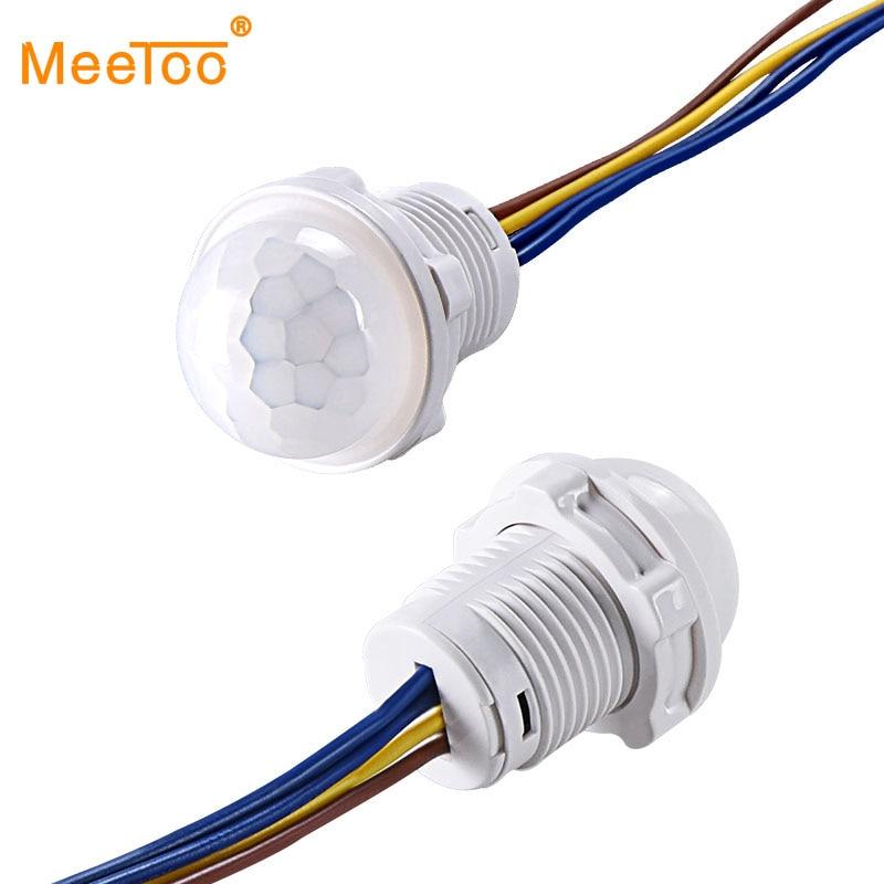 Мини-шкаф PIR датчик детектор умный переключатель 110 В 220 В светодиодный инфракрасный датчик движения из pir обнаружения автоматический датчик выключатель света