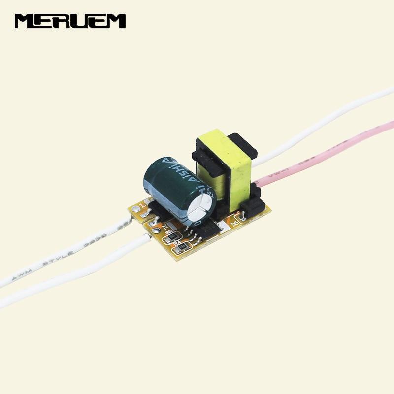 Светодиодный драйвер, 5 шт./лот, 1 Вт, 2 Вт, 3 Вт