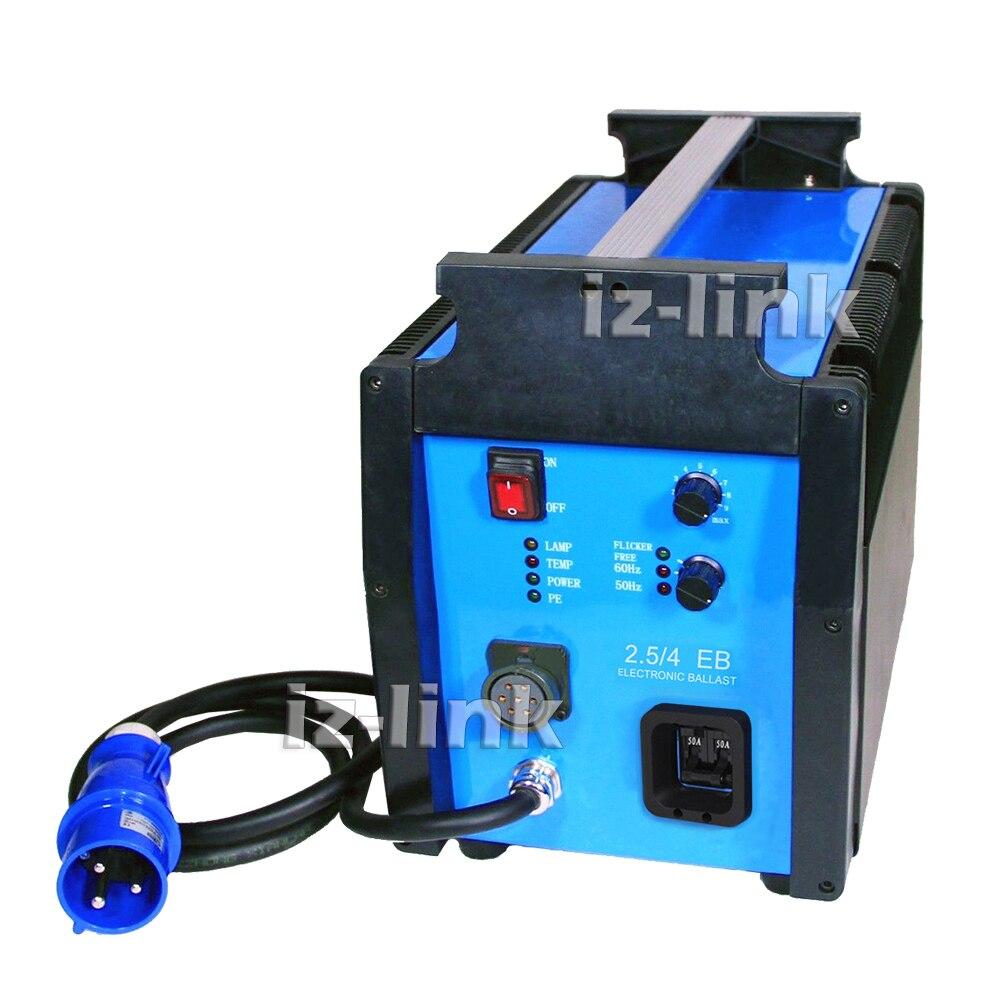 ALUMOTECH de alta velocidad 1000Hz HMI balasto electrónico para M40 220 ~ 240V 2500W 4000W 2,5/4 K Compatible con ARRI luz de la foto