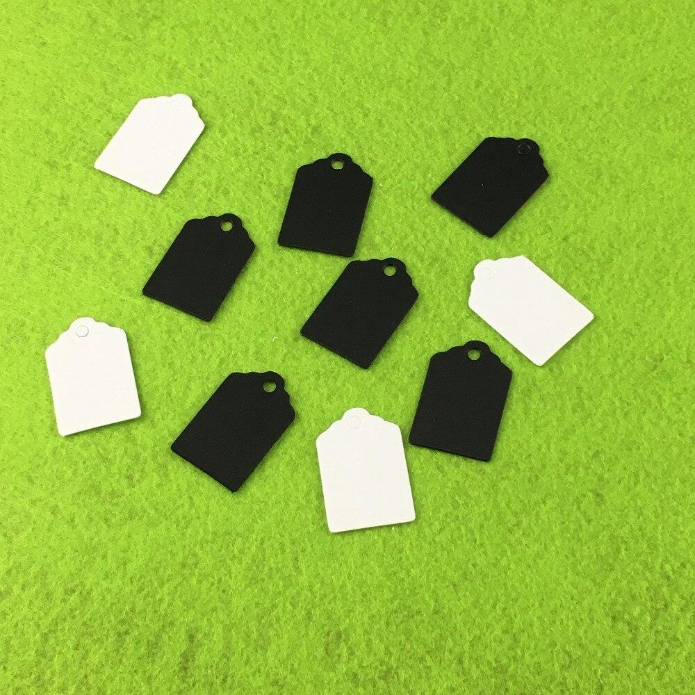 100 pçs/lote papel kraft tag feito à mão com amor para diy caixa de presente tag doces cupcake obrigado tag favores artesanais nome marca