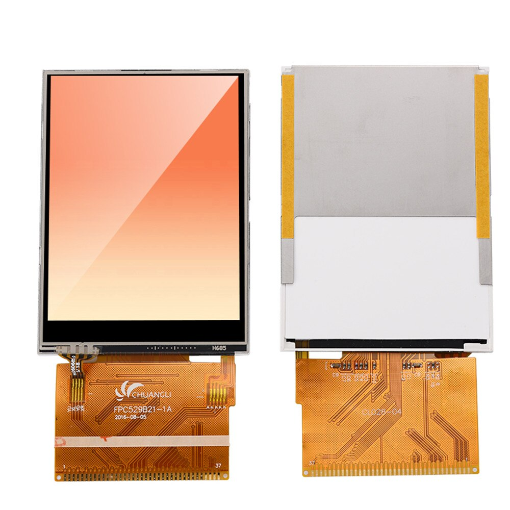"2,8 ""TFT ЖК-экран ILI9341 ЖК-дисплей 9341 с сенсорным LCM 37PIN 1,0 мм шаг"