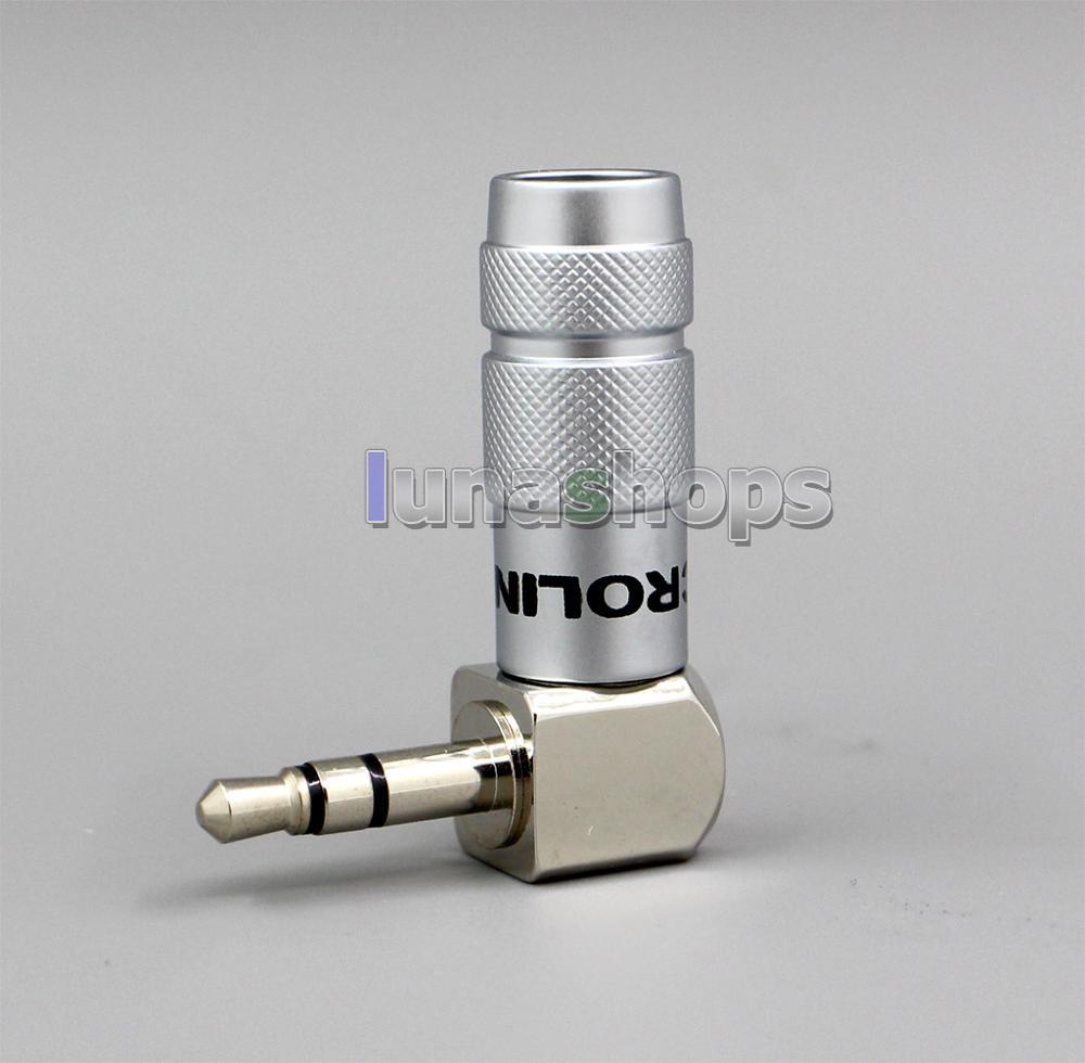 LN001850 ACROLINK FP-3.5L(R) 3.5 مللي متر ستيريو الذكور الروديوم مطلي 90 درجة محول ل diy