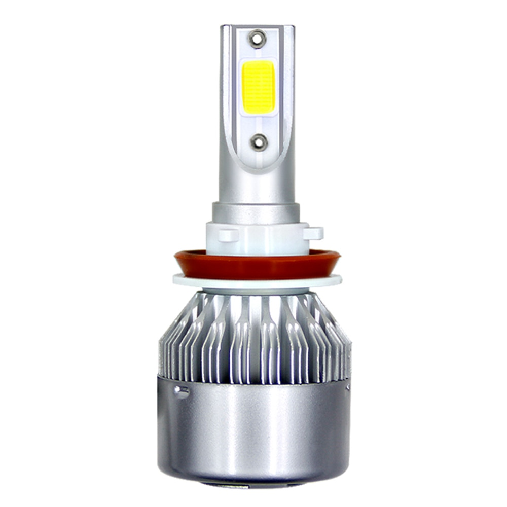 1Pc H11 H4 LED H7 LED bulbo coche Headllight H1 H3 H13 880, 9005, 9006, 9004, 9007, 72W 8000LM 6000K de la luz de niebla Auto faro lámparas