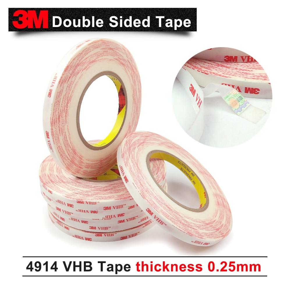 3M VHB 4914 doulbe الوجهين الاكريليك لاصق رغوة الشريط 12 مللي متر * 33M/5 لفات/الكثير يمكننا أن نقدم لك أي حجم
