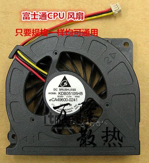 Fujitsu LifeBook S760 E751 E752 T731 AH550 AH551 AH701 TH700 E780 T730 T900 T901 ventilador de la CPU