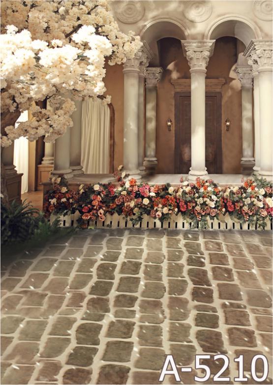 VITA SCATOLA MAGICA Sfondo Fundos Fotografia Casa Giardino Mh15-210