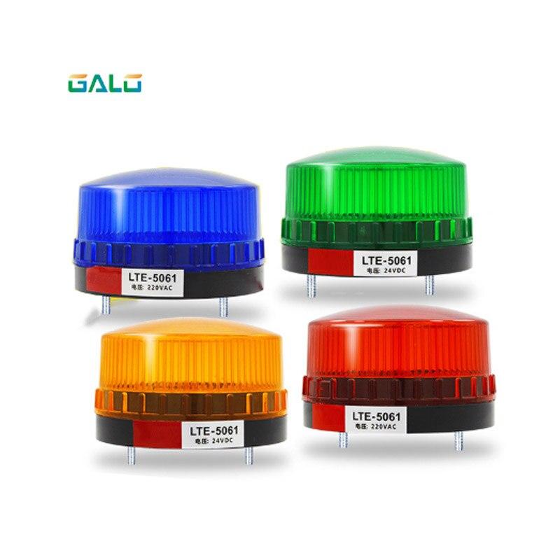 Abridor de puerta impermeable mini lámpara alarma de seguridad estroboscópica señal de advertencia linterna rojo, amarillo, azul, verde opcional (con sonido)