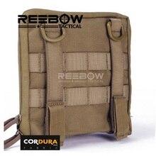 Sac organisateur utilitaire extérieur tactique hommes 1000D CORDURA MOLLE EDC sac doutils accessoires sac de taille randonnée Camping militaire