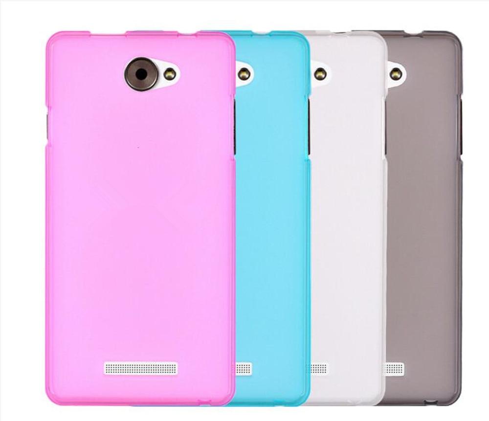 Para Nous NS 5004 Fosco Tampa Da Caixa do Silicone TPU Phone Case Para Nous NS 5004 Suave Tampa Traseira Caso