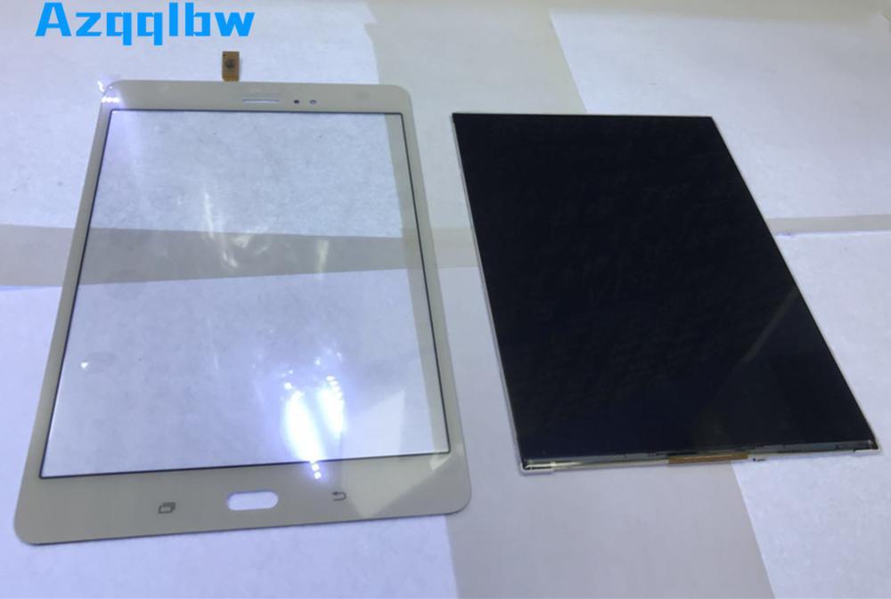 Azqqblw For Samsung Galaxy Tab A SM-T355 T355  Lcd display screen + Touch Screen Digitizer Sensor Glass Panel+tools