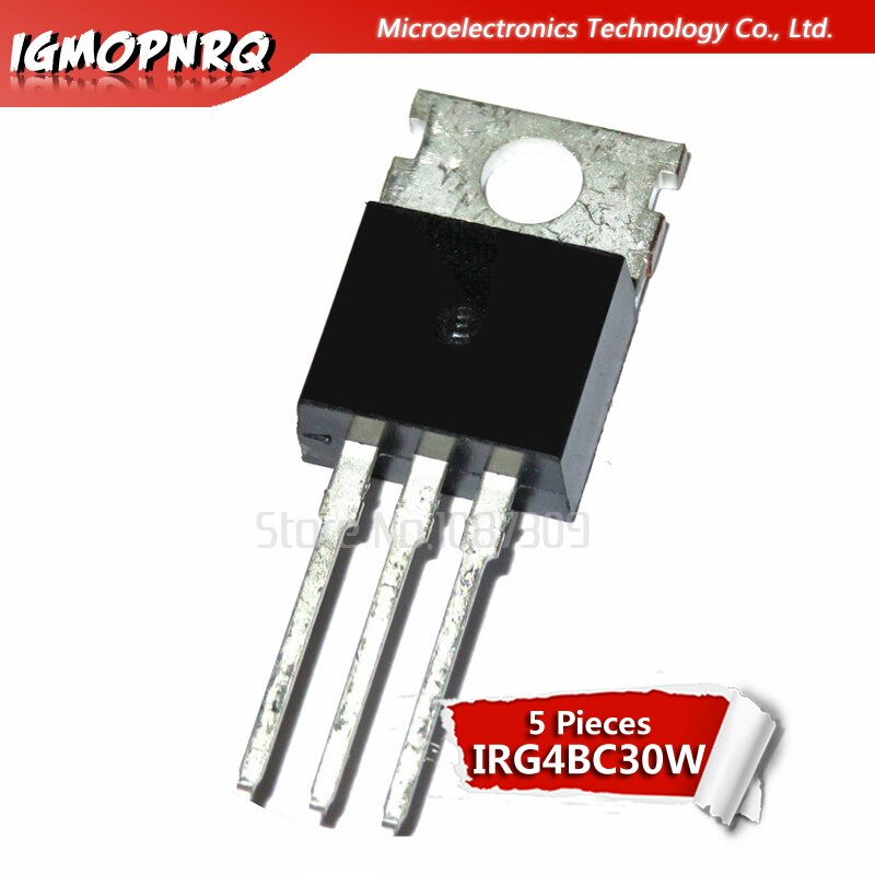 5 piezas G4BC30W transistor IGBT tubo G4BC30W nuevo original
